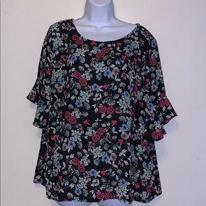 Liz claiborne blouse plus size